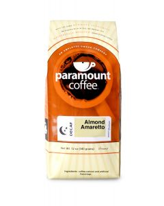 Almond Amaretto Decaf 12 oz Ground Coffee