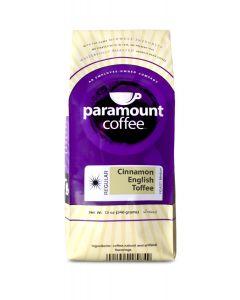 Cinnamon English Toffee 12 oz Ground Coffee