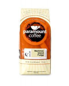 Mackinac Island Fudge Decaf 12 oz Ground Coffee