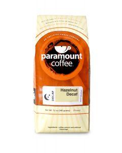 Hazelnut Decaf 12 oz Ground Coffee