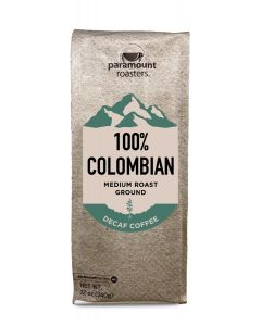 100% Colombian Decaf 12 oz Ground Coffee