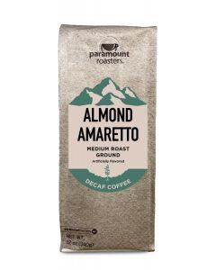 Almond Amaretto Decaf 12 oz Ground Coffee