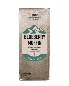 Blueberry Muffin Decaf 12 oz Ground Coffee