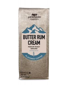 Butter Rum Cream 12 oz Ground Coffee