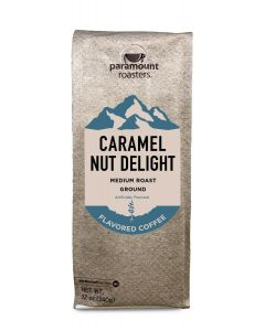 Caramel Nut Delight 12 oz Ground Coffee