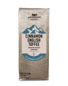 Cinnamon English Toffee 12 oz Ground Coffee
