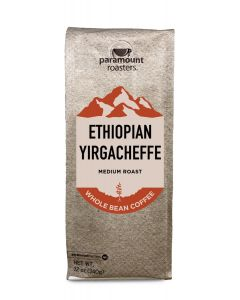 Ethiopian Yirgacheffe 12 oz Whole Bean Coffee