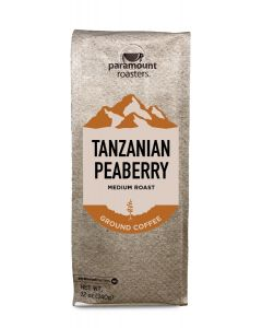 Tanzanian Peaberry 12 oz Ground Coffee