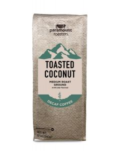 Toasted Coconut Decaf 12 oz Ground Coffee
