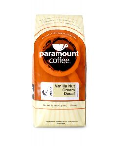 Vanilla Nut Cream Decaf 12 oz Ground Coffee