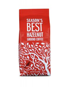 Season's Best, Hazelnut 12 oz Ground Coffee
