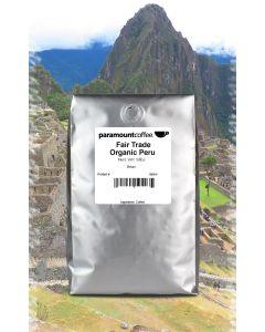 Fair Trade Organic Peru, Dark Roast Coffee 5# Whole Bean