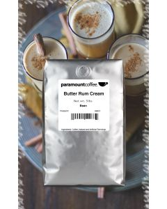 Butter Rum Cream, 5# Whole Bean Coffee