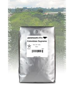 Colombian Supremo 5 lb Whole Bean Coffee