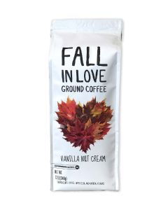 Fall in Love Vanilla Nut Cream 12 oz Ground Coffee