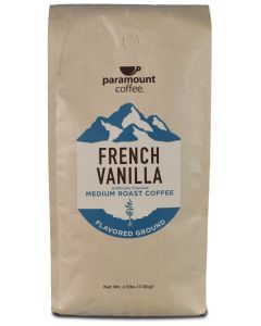 French Vanilla 40 oz Ground Coffee