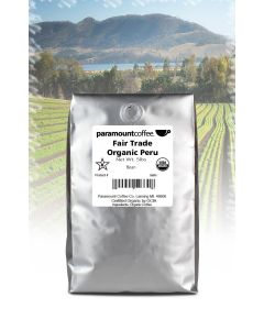 Fair Trade Organic Peru  5 lb Whole Bean Coffee