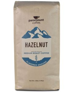 Hazelnut Ground Coffee 40 oz package