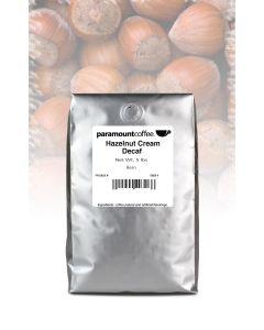 Hazelnut Cream Decaf  5 lb Whole Bean Coffee