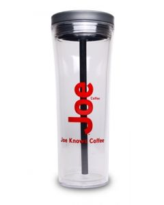 Joe 20 Oz Hot & Cold Acrylic Tower Tumbler
