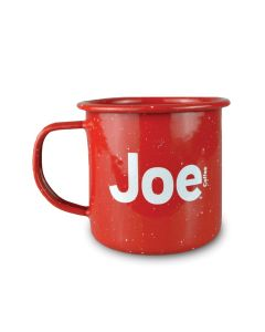 Joe 12 oz Enamel Camper Mug