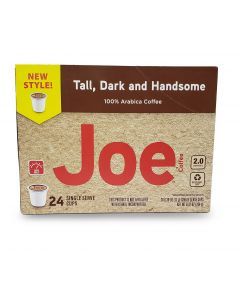 Tall Dark and Handsome, Single Serve Coffees in Recyclable Plastic Cups