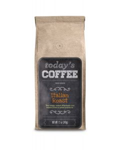 Today's Coffee Italian Roast, 12 oz Ground Package